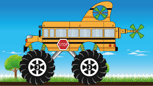 Gold Surprise Egg - Super School Bus Monster Truck - Kids Video ... Super School Bus Monster Truck Compilation Kids Video Youtube Bigfoot Youtube 28 Images Presents Meteor Cartoon Gold Surprise Egg Bigfoot Cartoon Monster Truck Cartooncreativeco Tv Presents Meteor And The Mighty Trucks Show Beds For Kids Ivoiregion And The Mighty Trucks Uvanus A Snippet Of Official Website Blaze Attacked By Jurassic World Dinosaurs Nickelodeons