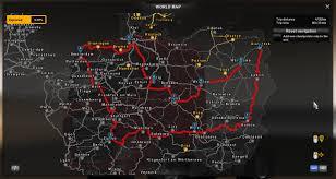 Map Usa Euro Truck Simulator 2 | Deeplookpromotion.com