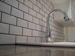 classic aesthetic subway tile backsplash white smith design