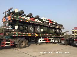 100 Truck Trailer Manufacturers China Flatbed Container Semi For