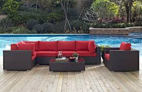 Outdoor Sectional Sofa Set by Outdoor Patio Sectional Sofa Set