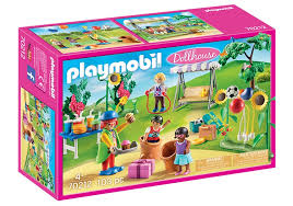playmobil dollhouse kinderfest mit clown 70212 gitoparts