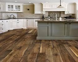 Wood Kitchen Island Kitchens With Vinyl Plank Flooring