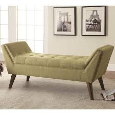 Danish Modern Sofa Legs by Mid Century Modern Upholstered Accent Bench