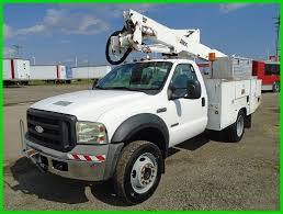 2006 FORD F-550 XL 4WD Bucket Truck Used - $24,500.00 | PicClick 1995 Ford F450 Versalift Sst36i Articulated Bucket Truck Youtube 2004 F550 Bucket Truck Item K7279 Sold July 14 Con 2008 4x4 42 Foot 32964 Cassone And 2011 Ford Sd Bucket Boom Truck For Sale 575324 2010 F750 Xl 582989 2016 Altec At40g Insulated Super Duty By9557 For Sale In Massachusetts 2000 F650 Atx Equipment 2012 Used F350 4x2 V8 Gasaltec At200a At Municipal Trucks