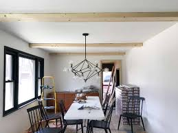 100 Cieling Beams How To Install Faux Wood DIY White Faux Ceiling