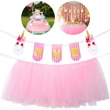 1st Birthday Decorations For Girls Unicorn ONE Banner With High ... Cheap Tutu For Birthday Find Deals On Line At New Arrival Pink And Gold High Chair Tu Skirt For Baby First Amazoncom Creation Core Romantic 276x138 Babys 1st Detail Feedback Questions About Magideal Baby Highchair Chair Banner Elephant First Decor Unique Tulle Premiumcelikcom Hawaiian Luau Decoration Tropical Etsy Evas Perfection Premium Toamo Black And Red Senarai Harga Aytai Blue Decorations Girl Inspirational
