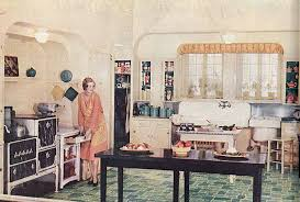 1930s And 1940s Technology Ergonomics War Open Up The Kitchen