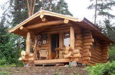 fuste maisons en rondins empilés mini maison et cosy bureau