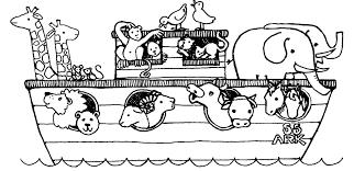 Noahs Ark Coloring Page Noah Archives Best Line Drawings
