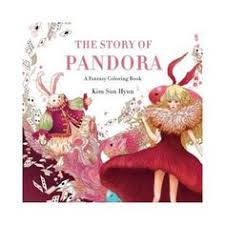 Pandora Coloring Book Anti Stress Enchanting Fantasy Trip Adult Art Therapy New In Books Children Young Adults