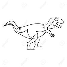 Coloriage Tyrannosaure Rawr Dinosaur Theme Nursery Poster Frais