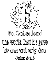 Christian Colouring Pages For Easter Cross Coloring Page Picturing