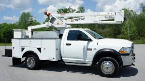 2011 RAM 5500 BUCKET TRUCK BOOM UTILITY SERVICE TRUCK FOR SALE - YouTube
