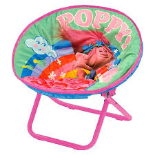 White Saucer Chair Target by Trolls Toddler Saucer Chair
