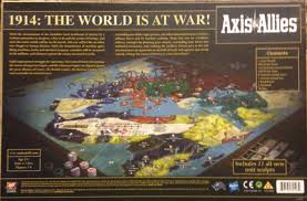 Axis Allies WWI 1914 Board Game
