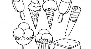 The Stylish As Well Interesting Ice Cream Coloring Pages With Regard To Household