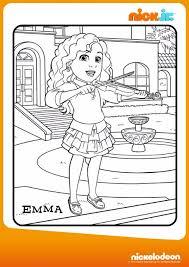 Colora Emma Disegna Con Dora Friends Into The City Su Nick Jr