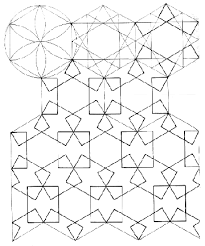 Free And Detailed Geometric Design On This Coloring Book Page For Young Kids