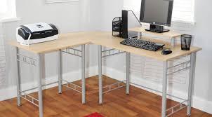 Magellan L Shaped Desk Gray by Standing L Shaped Desk Lshaped Corner Standing Desk Deskwood L