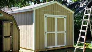 Portable Generator Shed Plans by 12 12 Customer Built Gable Shed U2013 Icreatables Com