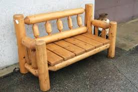 Log Bench Ideas Brilliant Outdoor Best About Benches Great