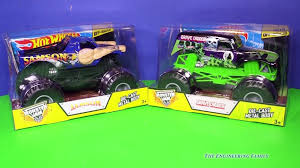 100 Samson Monster Truck MONSTER TRUCKS Grave Digger Meet Paw Patrol A Toy Review