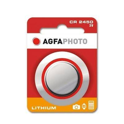 Agfa Photo CR2450 Lithium Battery Button Cell