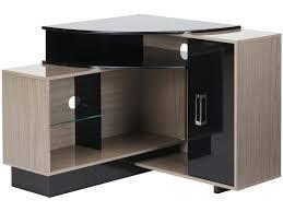 bureau d angle noir laqué meuble tv angle morn angle id es d int at 4 meuble tv angle noir
