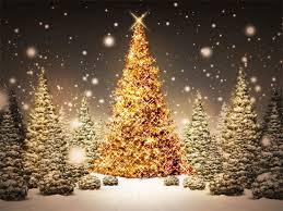 Gold Christmas Tree 02