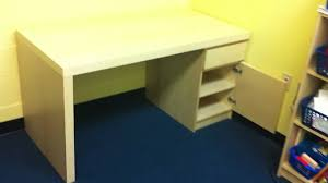 Ikea Micke Desk Assembly by Ikea Desk Assembly Service Video For Dc Md Va Public By