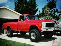 1972 Chevy K20 4x4 Truck 1972 Chevy K20 4x4 34 Ton C10 C20 Gmc ...