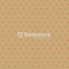 Small Red Christmas Tree Pattern On Beige Background Vector Art