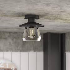 flush mount lighting you ll wayfair