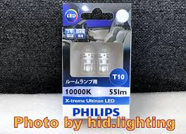 Philips Lamps Cross Reference by Philips 12796 T10 W5w 10000k Xtreme Ultinon Led Parking Light Lamp