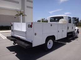 2003 International 4200 Vt365 Service Body Crew Cab Truck For Sale