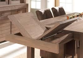 table de salle a manger bois massif avec rallonge maisonjoffrois
