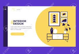 100 Home Interior Website Header For Website Page Design Template For Landing Page