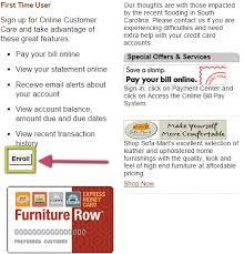 Furniture Row Credit Card Login ficialkod
