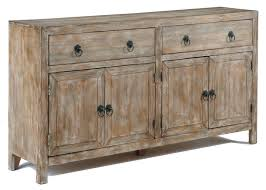 Signature Design By Ashley Vennilux Rustic Accent Cabinet In Distressed Finish
