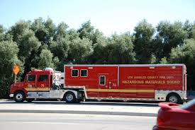 100 Hazmat Truck LACoFD 76 Hazardous Material Squad LA County Fire
