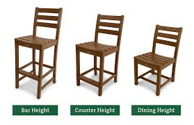 TREX Furniture Blog Standard Chair Heights