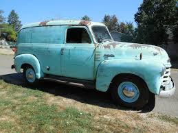 1951 Chevrolet 3100 Panel Shop Truck / Lots Of Patina / Original 216 ...