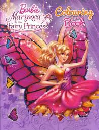 9781743464960 Listen About This Item Barbie Mariposa And The Fairy Princess Colouring Book
