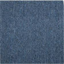 teppichboden auslegware blau 200x300 cm meterware bodenbelag