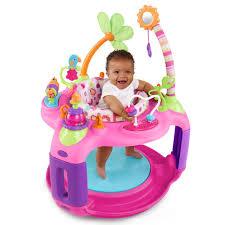 table activité bébé avec siege table d éveil safari bounce a de bright starts
