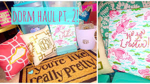 Lilly Pulitzer Bedding Dorm by Huge College Dorm Haul Pt 2 Lilly Pulitzer Inspired 2015