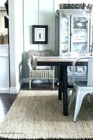 Dining Room Rug Size Rugs For Table Round Guide Tabl
