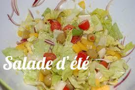 recette cuisine été recette de la salade d été