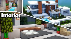 100 Inside Modern Houses Minecraft Large House 15 Interior Tutorial How To Build